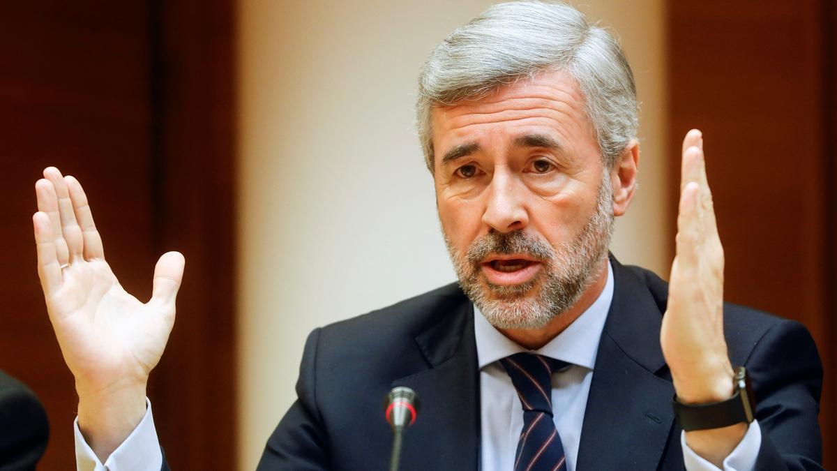 El exsecretario general del PP Ángel Acebes.