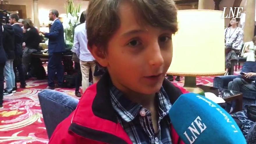 """Un niño de 10 años vive """"el día más feliz de mi vida"""" gracias a Lindsey Vonn"""