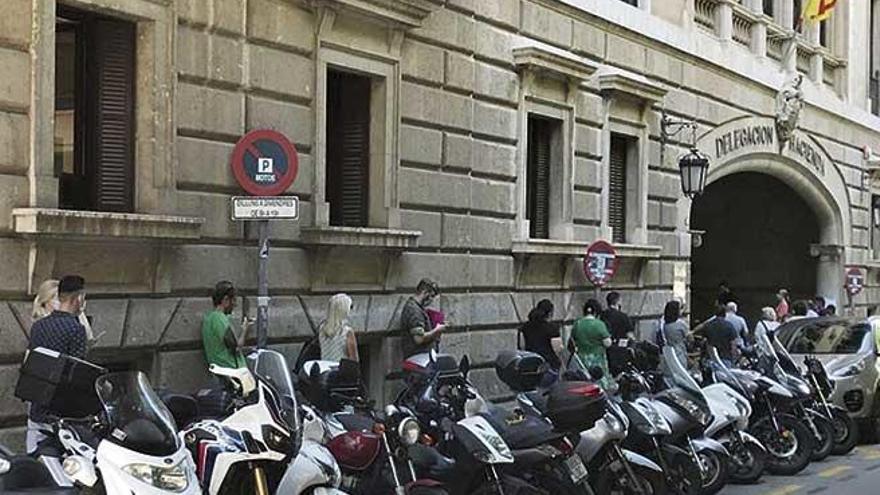 Uno de cada tres contribuyentes de Baleares no llega a mileurista