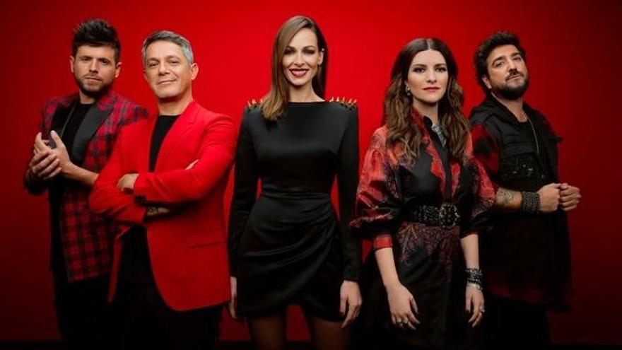 """La emoción y un bloqueo """"por accidente"""", protagonistas en el estreno de 'La Voz'"""