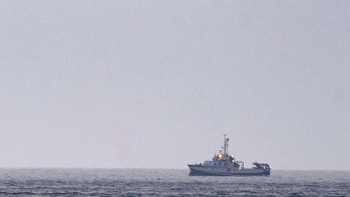 El vaixell encarregat de rastrejar la costa de Tenerife