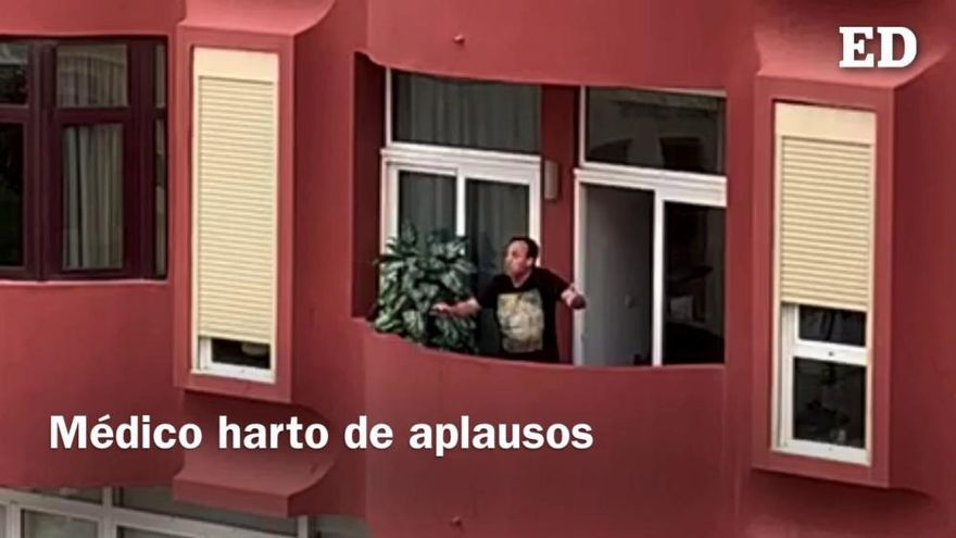 "Coronavirus en Tenerife | Médico de Tenerife harto de ""aplausitos"""
