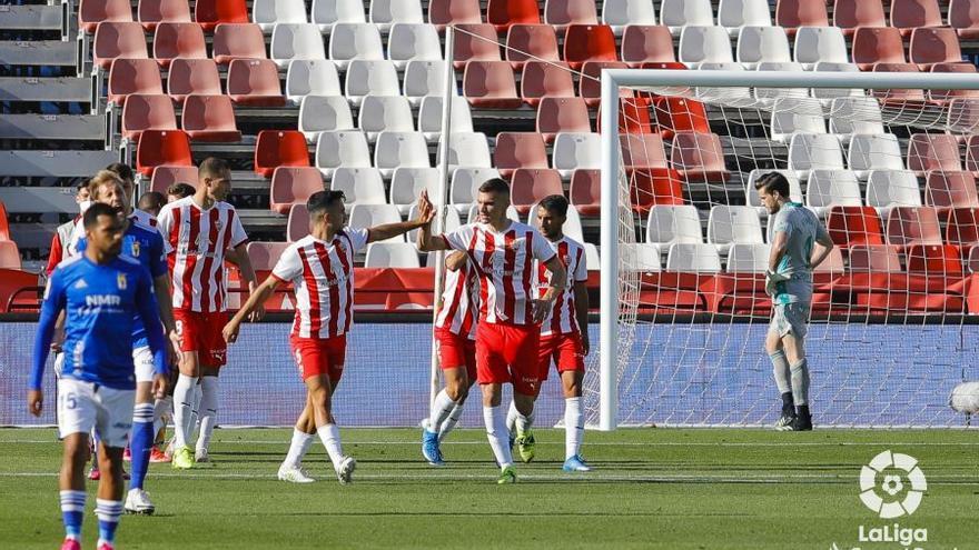 En directo: el Oviedo araña un empate cuando tenía todo en contra