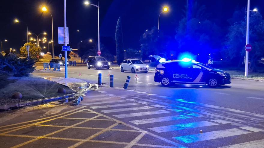 La Policía detecta una gran afluencia de personas en botellones en Playa de Palma y Paseo Marítimo