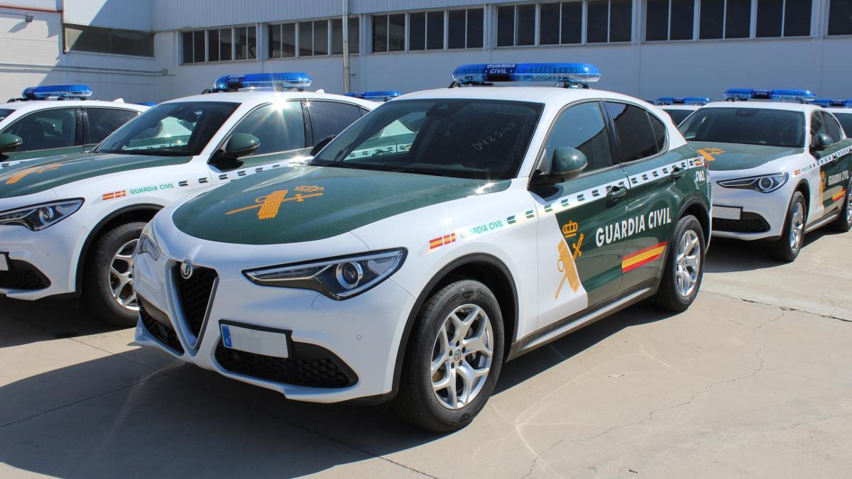 Alfa Romeo Stelvio Q4 2021, el nuevo coche de la Guardia Civil