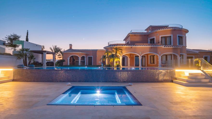 Una piscina de Xàbia, premiada por unos galardones de diseño