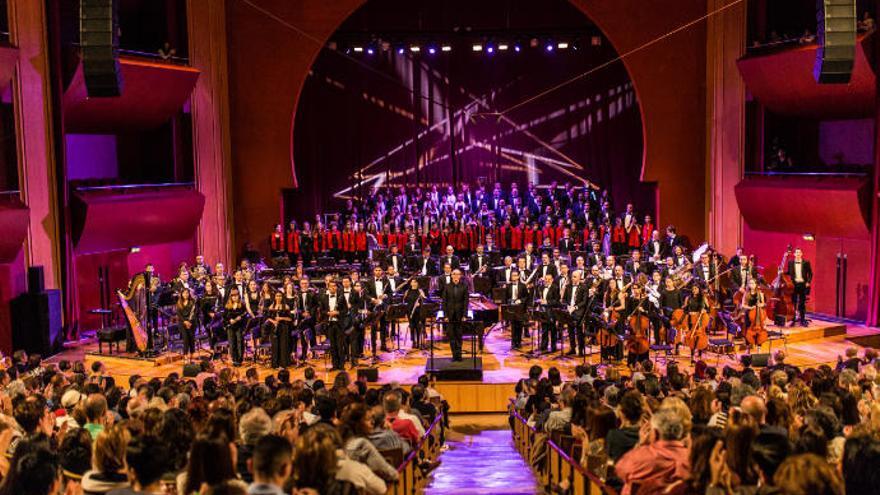 La Gran Canaria Wind Orchestra suena en el Auditorio Alfredo Kraus por una buena causa
