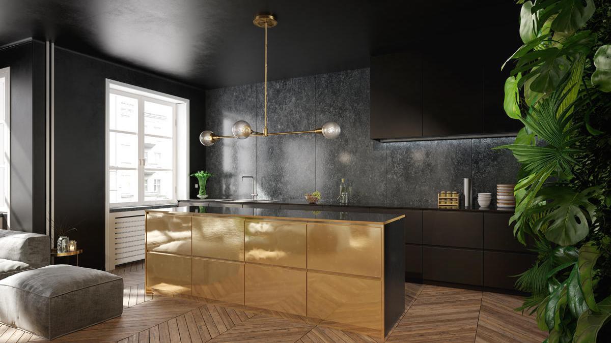 Cocinas cómodas en las que el diseño está al servicio del diseño de la vivienda.