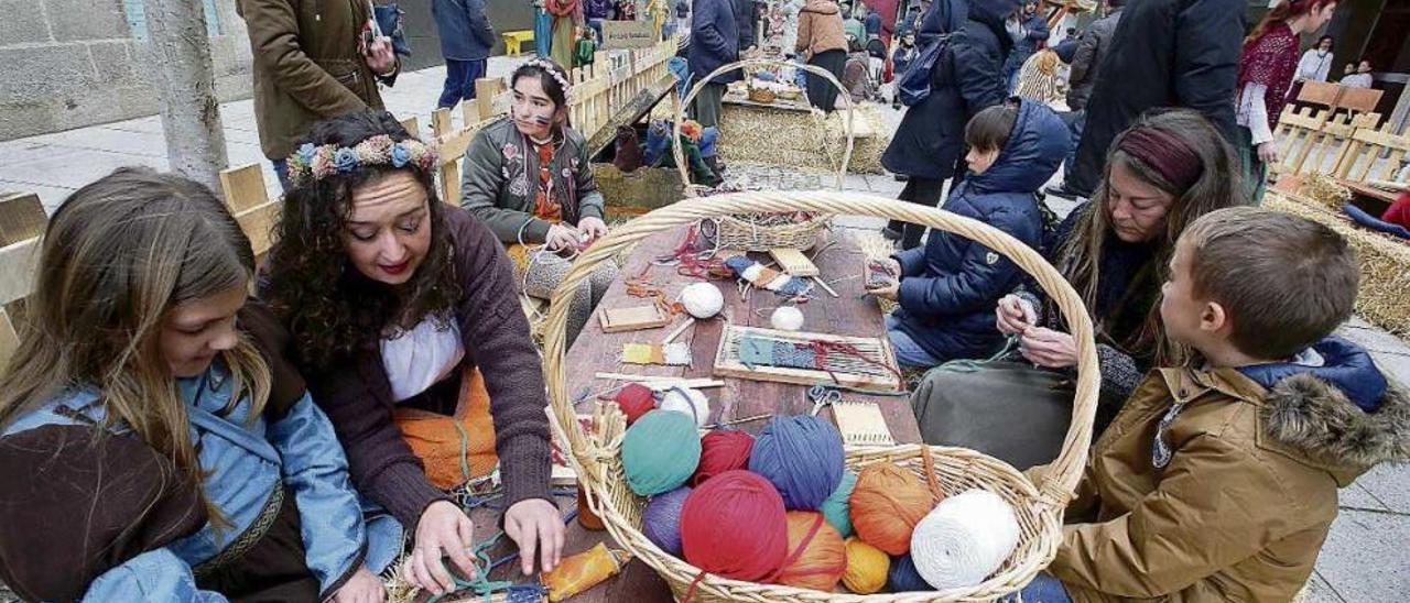 La diversión infantil arriba a Baiona