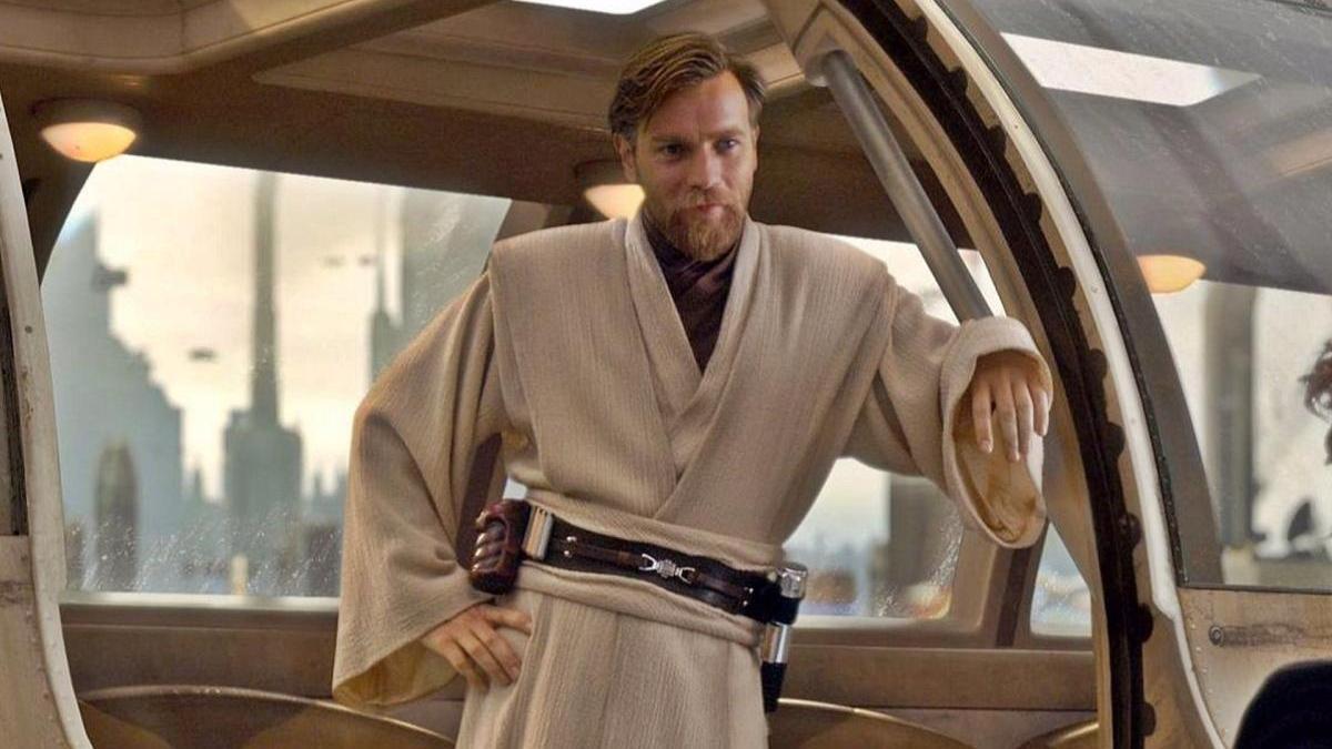 An image of Ewan McGregor as Obi-Wan Kenobi.