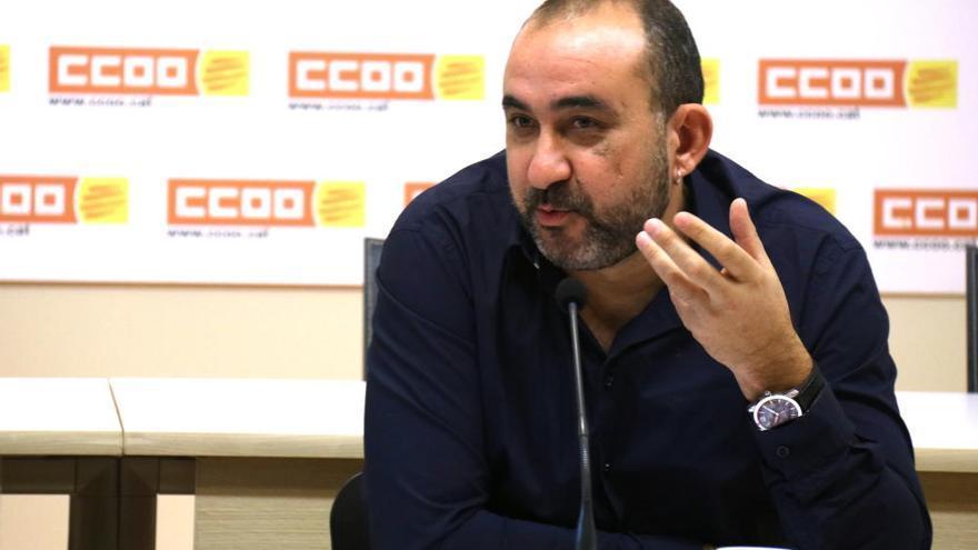 El secretari general de CCOO, Javier Pacheco, analitza la sortida de Luca de Meo de la direcció de Seat i l'actual situació a Nissan