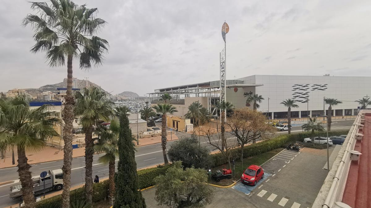 Imagen de la zona de muelles donde está el Panoramis, que se transforma en centro tecnológico