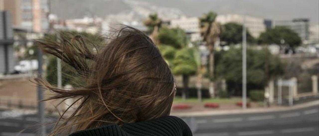 Tenerife estará en aviso amarillo este fin de semana por fuertes rachas de viento