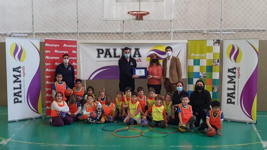 La Fundación Alcampo por la Juventud aporta 10.000 euros al club PalmaEsports
