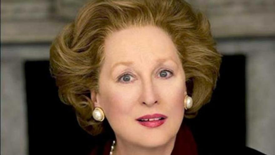 Meryl Streep se mimetiza con 'La dama de hierro'