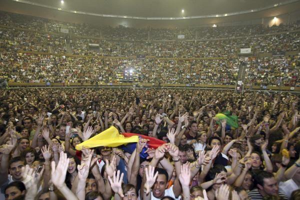 Así fue el paso de Shakira por el Coliseum en 2006