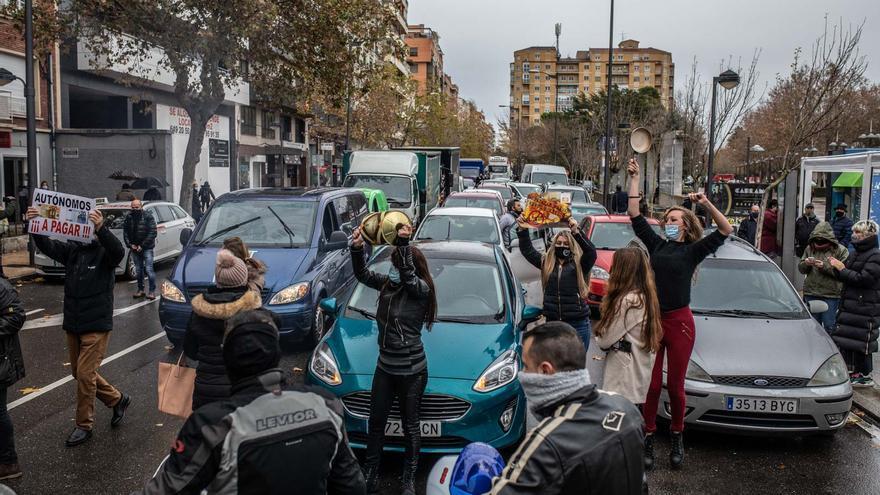 Los autónomos de Zamora, al límite, salen a la calle para exigir soluciones ante la crisis
