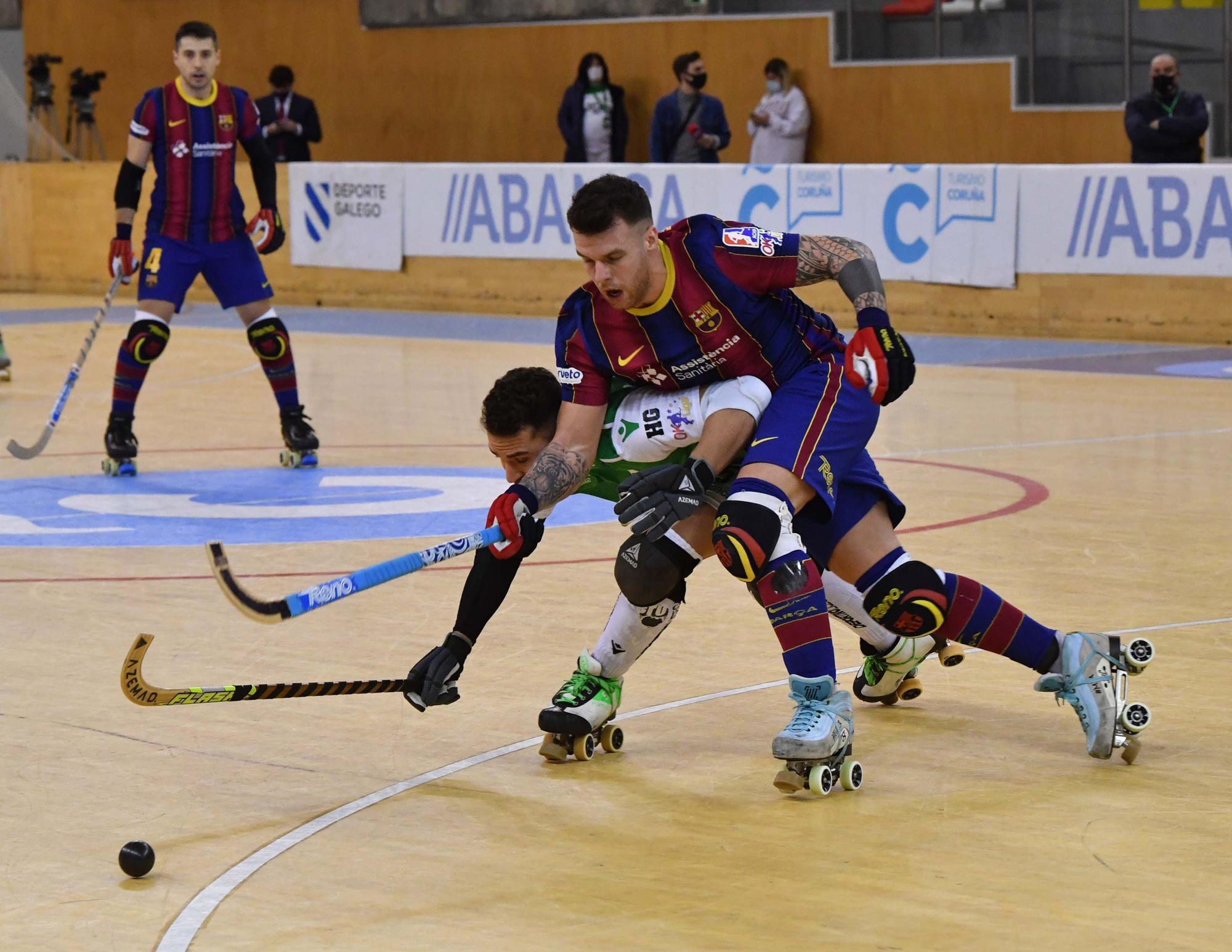 El Liceo pierde 3-7 ante el Barcelona