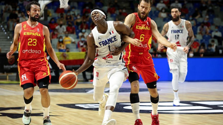 España supera a Francia en el primer gran test antes de los Juegos