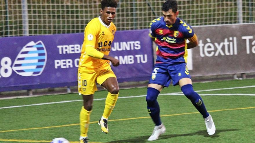 El balón parado deja el UCAM sin final de Copa