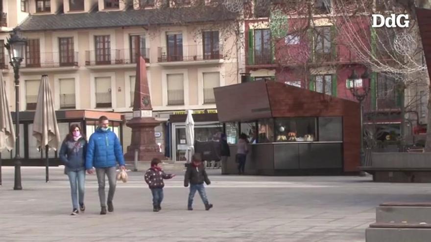 Els comerciants de Puigcerdà alerten que el confinament els impedeix treure estocs