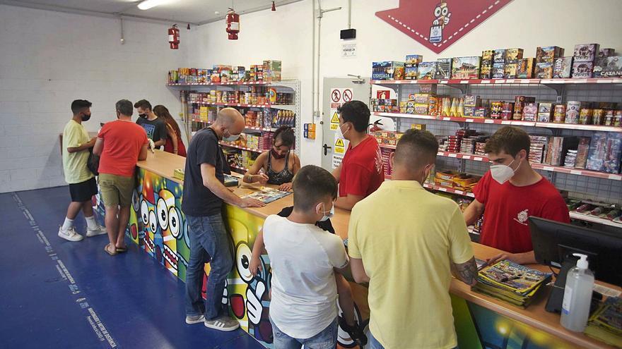 Autoritzen 116 punts de venda de petards a les comarques de Girona