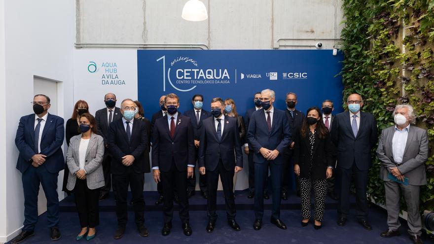 Cetaqua celebra una década como polo de innovación en Galicia