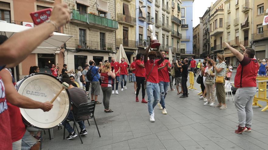 El Baxi celebra la Lliga Catalana: «Va ser una nit rodona en tots els sentits»