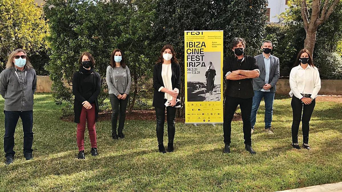 Presentación del Ibizacinefest, ayer en el Consell de Ibiza