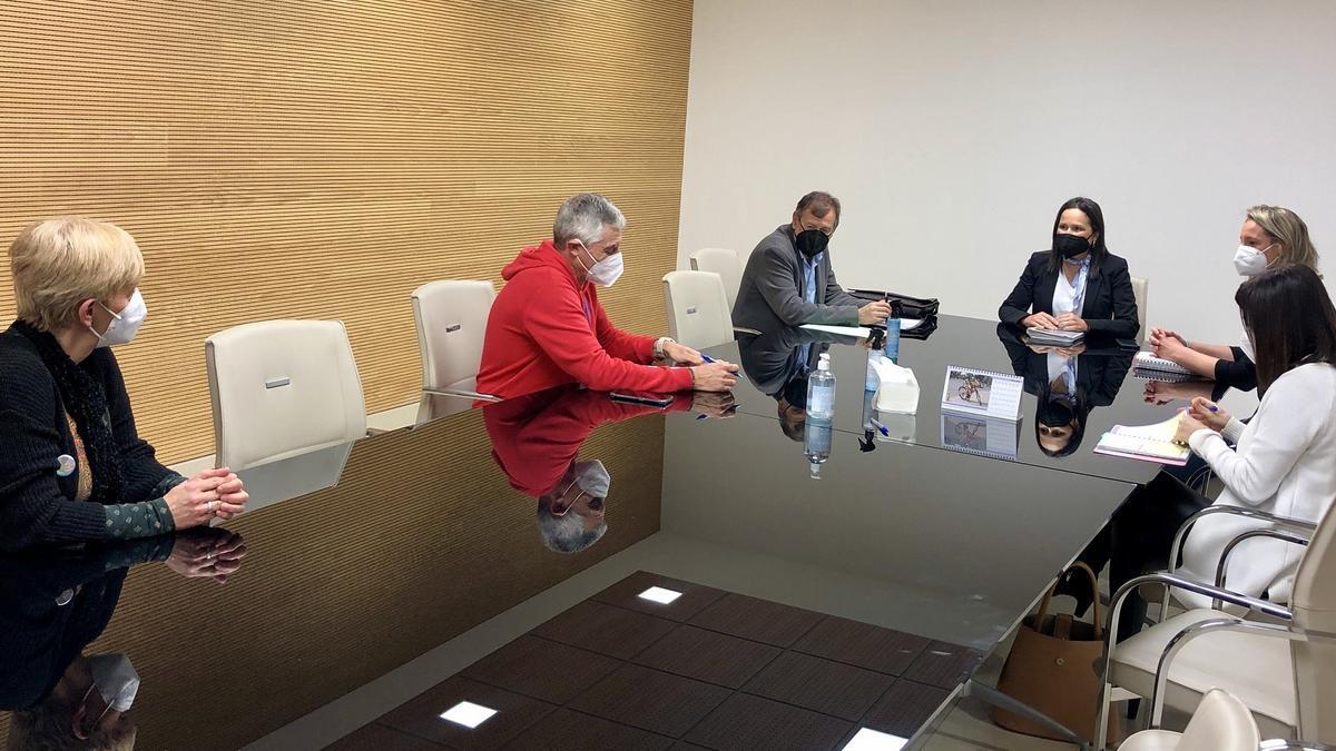 Reunión de Gomicia y Galí con los responsables de los centros que imparten FP.