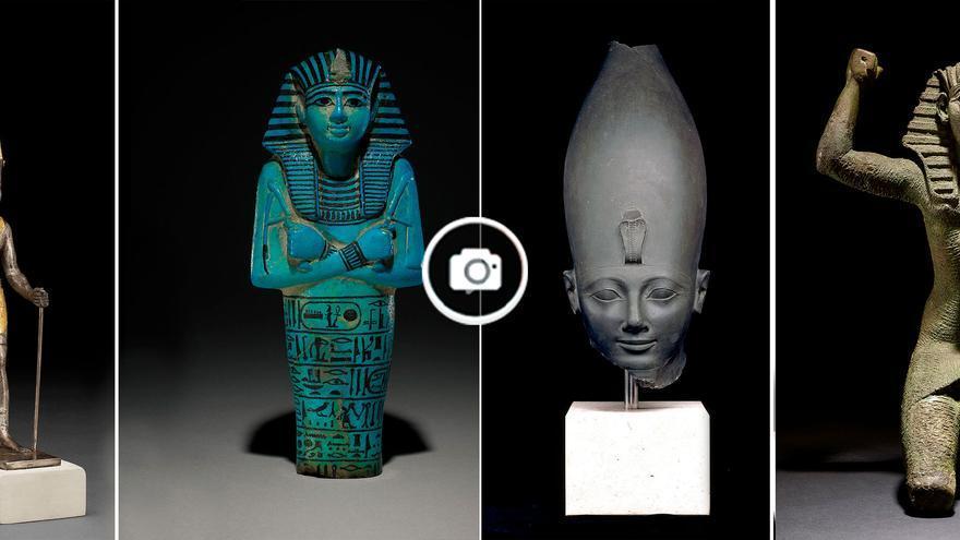 Arte egipcio en la cidade da cultura