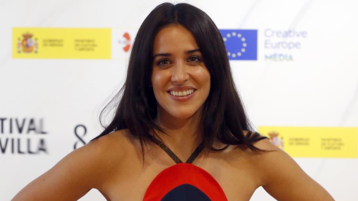 La actriz Macarena García.