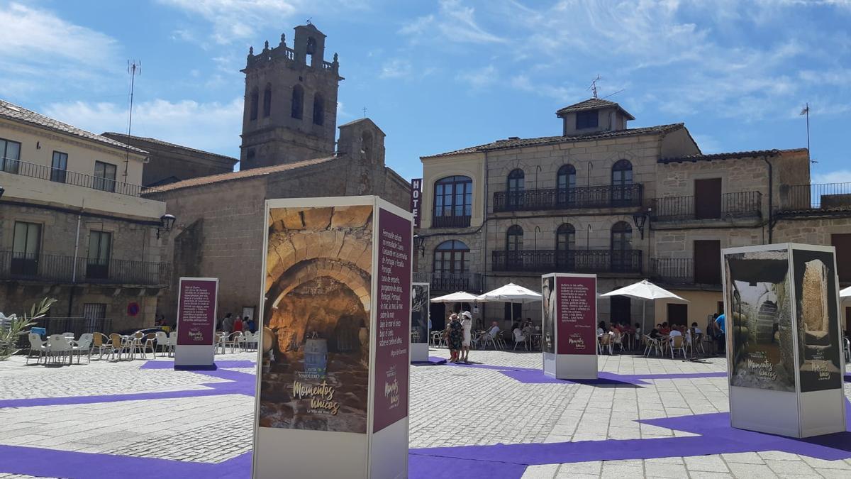 Plaza de Fermoselle este fin de semana