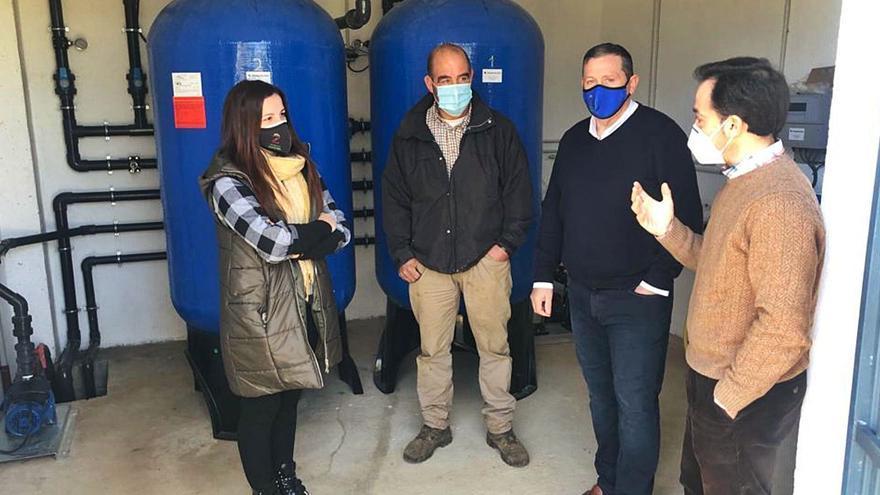 Rábano de Aliste estrena una potabilizadora para eliminar el manganeso