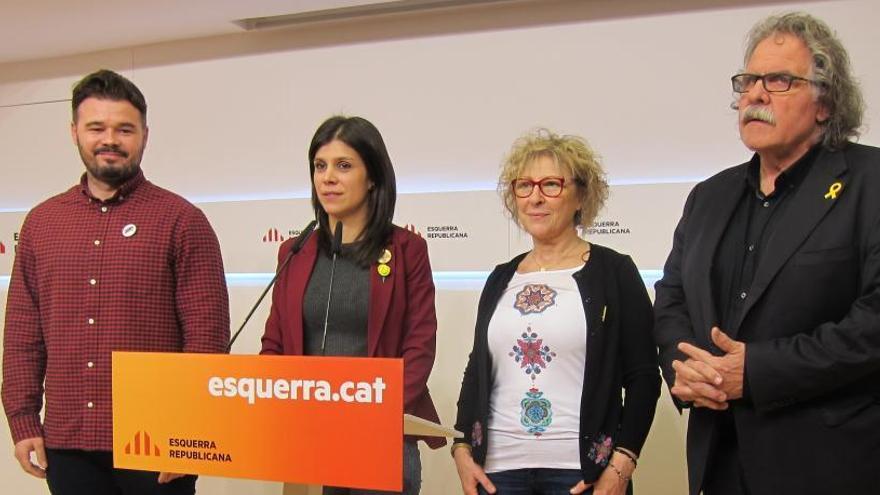 ERC descarta ir a las generales con una candidatura única de independentistas