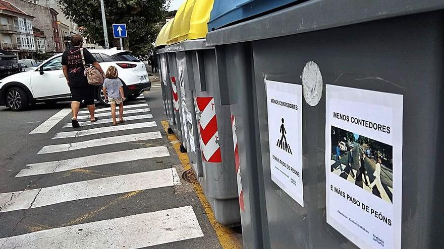 Anduxía reclama más espacio peatonal en la zona portuaria