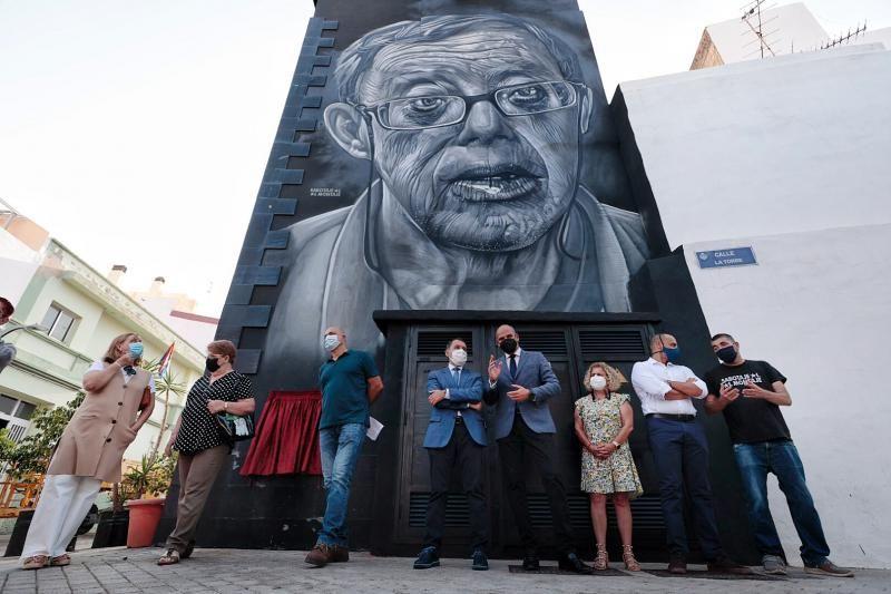 """Presentación oficial del mural dedicado a Andrés Domínguez Baute """"Andresito"""""""