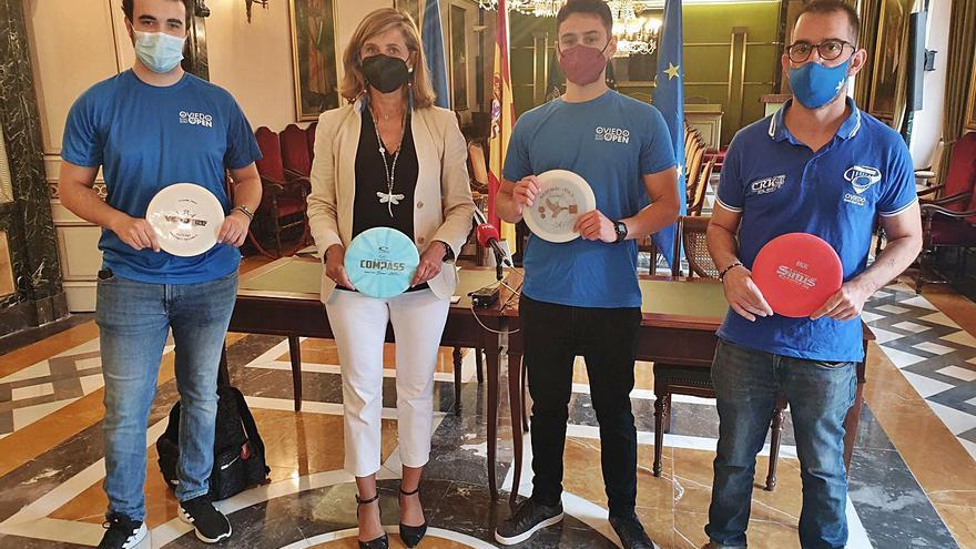 Oviedo, origen del disc golf: la ciudad es pionera de este deporte nórdico en España