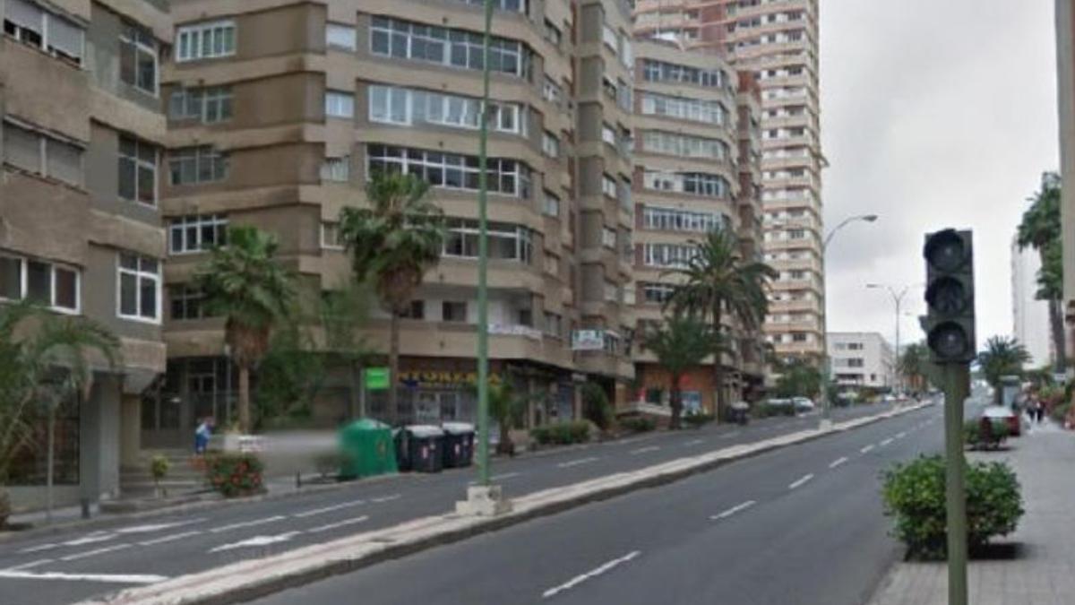 La Avenida de Escaleritas, en una imagen de archivo