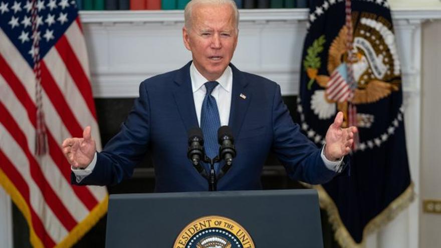 Biden reafirma a Zelenski el compromiso de EEUU con Ucrania