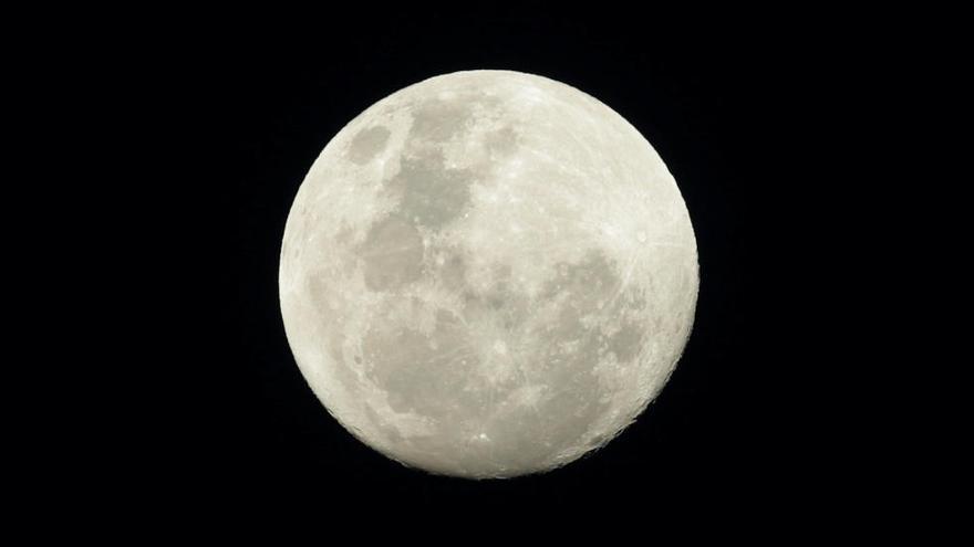 La primera superluna de marzo se podrá ver en Canarias
