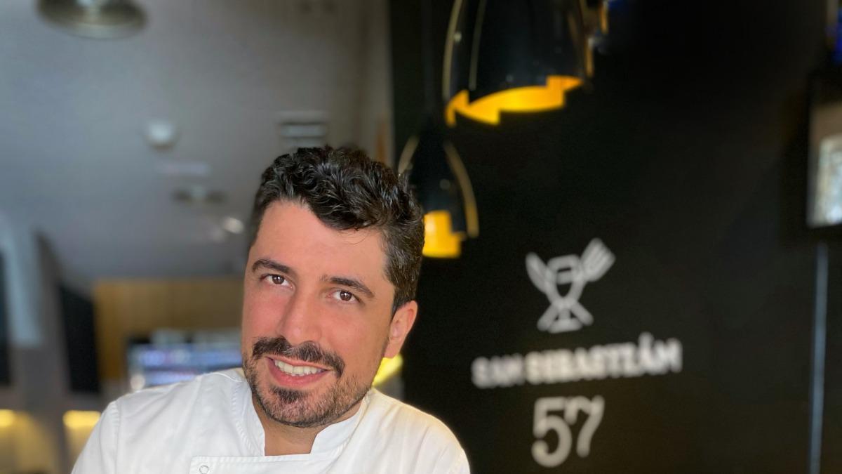 El chef Alberto González.