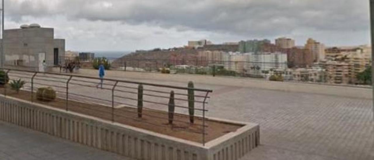 Estado actual del parque Carmen González Roca, en la calle Agustina de Aragón.