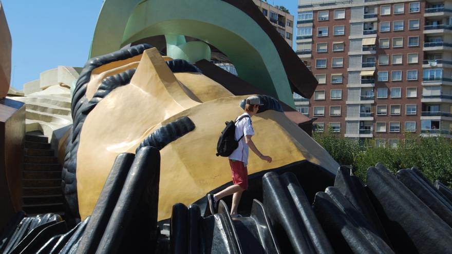 València remodelará la entrada del parque Gulliver para construir una zona de picnic