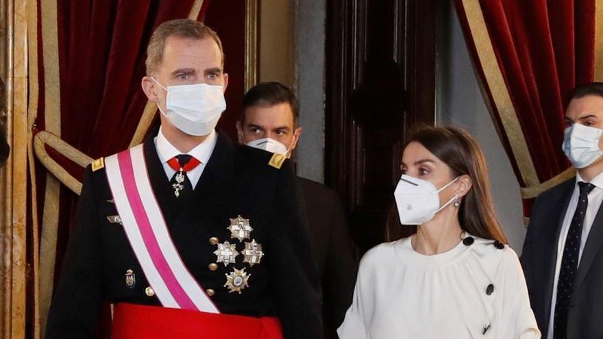 """Felipe VI: """"Todos estamos incondicionalmente comprometidos con la Constitución"""""""