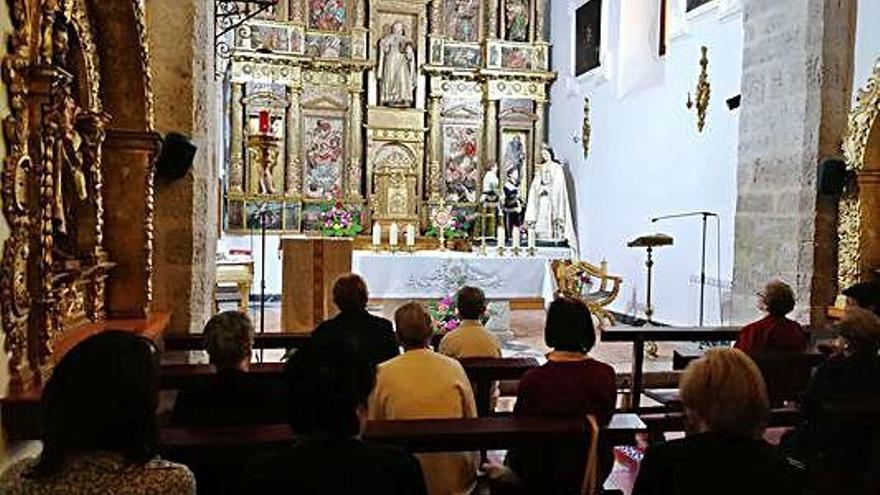 Clausura del triduo de la Virgen de la Saleta