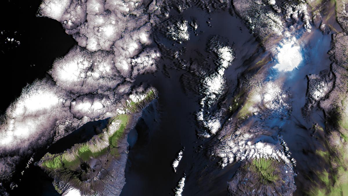 La cámara DRAGO toma sus primeras imágenes de Canarias desde el espacio