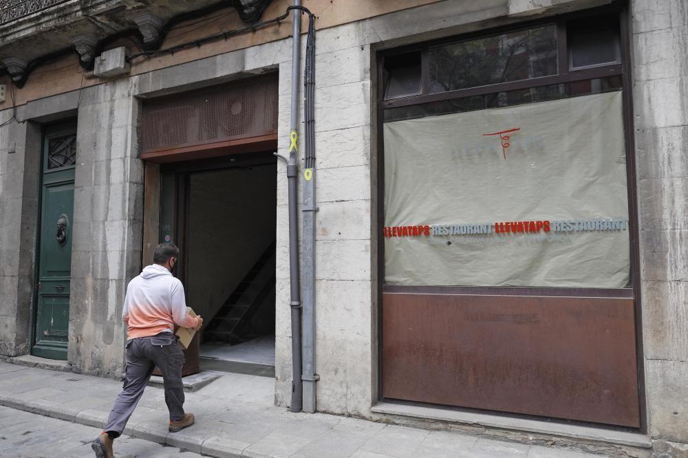 Obres del futur restaurant Normal del sommelier Josep Roca