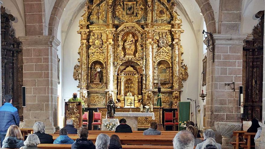 Rezos al san Antonio más austero en Aliste