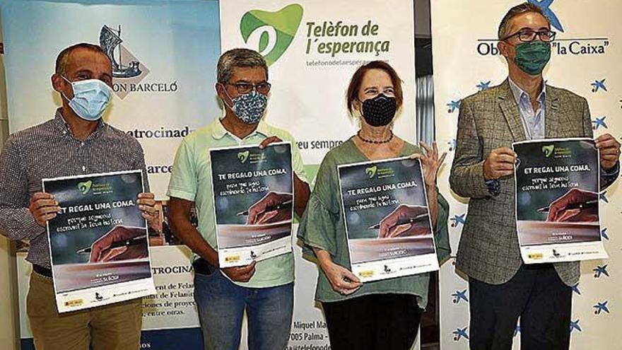 Las llamadas al Teléfono de la Esperanza se duplican en Baleares